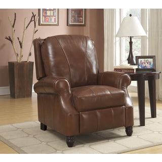 At Home Designs Foothills Brown Yamhill Recliner