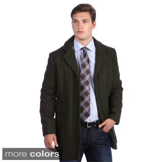 Kenneth Cole Men's Wool Blend Walker Coat