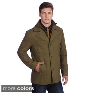 Kenneth Cole Men's Wool Peacoat