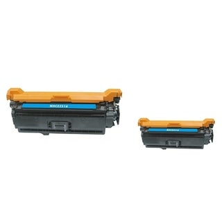 INSTEN Cyan Toner Cartridge for HP CE251A (Pack of 2)