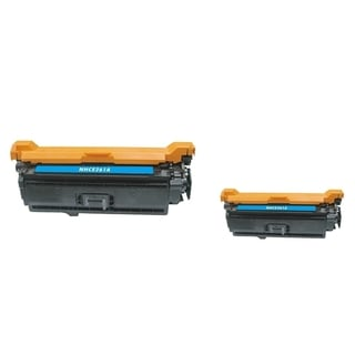 INSTEN Cyan Toner Cartridge for HP CE261A (Pack of 2)