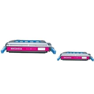 INSTEN Magenta Toner Cartridge for HP CE403A (Pack of 2)