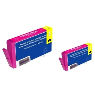 INSTEN Magenta Ink Cartridge for HP 920XL (Remanufactured) (Pack of 2)