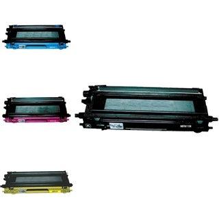 INSTEN 4-ink Cartridge Set for Brother TN115