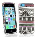 BasAcc Antique Aztec Rubber Coated Case for Apple iPhone 5C