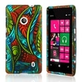 BasAcc Antique Swirls Rubber Coated Case for Nokia Lumia 521