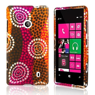 BasAcc Ethnic Wave Rubber Coated Case for Nokia Lumia 521