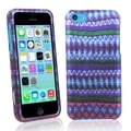 BasAcc African Pattern Rubber Coated Case for Apple� iPhone 5C