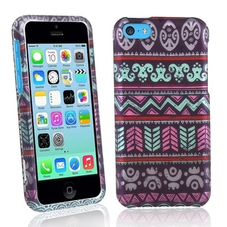 BasAcc Elegant Aztec Rubber Coated Case for Apple iPhone 5C