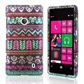 BasAcc Elegant Aztec Rubber Coated Case for Nokia Lumia 521