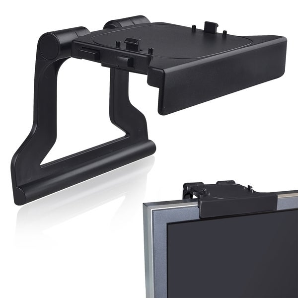 INSTEN Black Kinect Sensor Mount for Microsoft Xbox 360/ Xbox 360 Slim