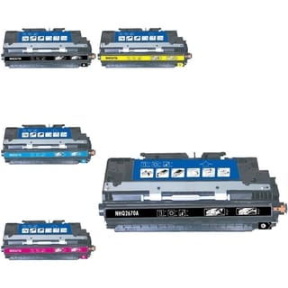 BasAcc 5-ink Cartridge Set Compatible with HP Q2670A