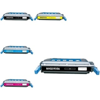 INSTEN 5-ink Cartridge Set for HP Q5950A