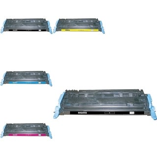 BasAcc 5-ink Cartridge Set Compatible with HP Q6000A