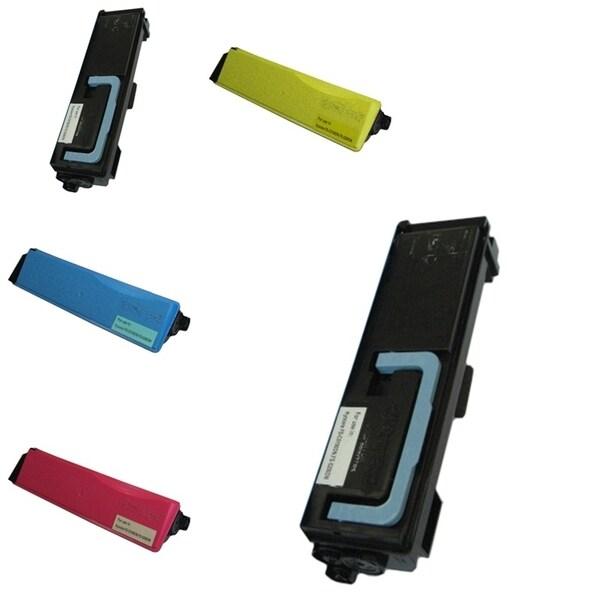Insten Premium 2BCMY Color Toner Cartridge TK562Bk/ TK562C/ TK562M/ TK592Y for Kyocera-Mita FS-C5300DN/ C5350DN