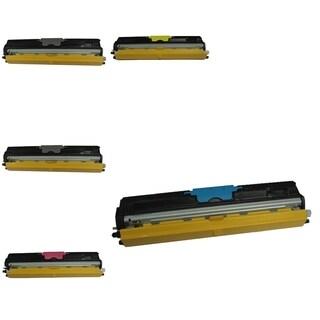 BasAcc 5-ink Cartridge Set Compatible with Konica-Minolta 1600