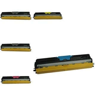 BasAcc 5-ink Cartridge Set Compatible with Okidata C110/C130n