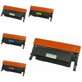 INSTEN 5-ink Cartridge Set for Samsung CLT-C406S
