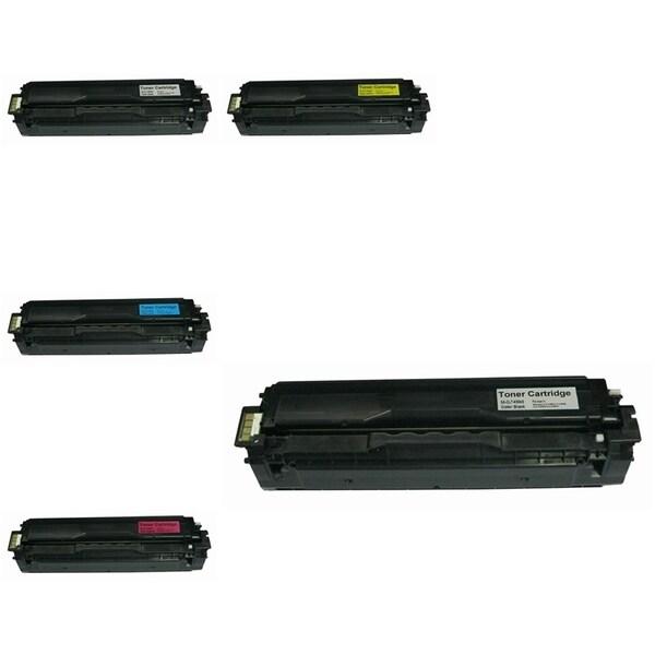 INSTEN 5-ink Cartridge Set for Samsung CLT-C504S