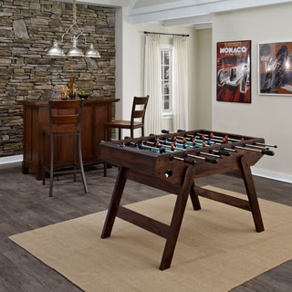Foosball Table Antique Mahogany Finish