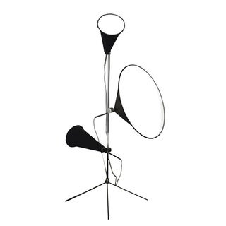 Blacj Floor Lamp