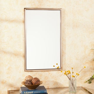 Upton Home Ambrosia Champagne Brass Wall Mount Mirror