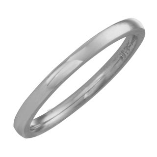 Platinum 1.5-mm Comfort-fit Wedding Band