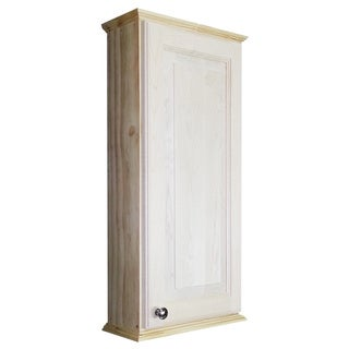 ashley series 30 inch unfinished 2 5 inch deep on the wall cabinet