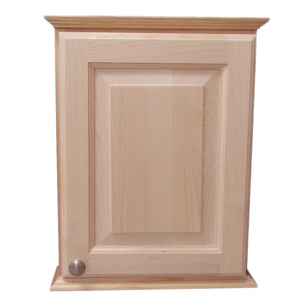 18-inch Ashley Series On the Wall Cabinet 2.5 Inches Deep ...