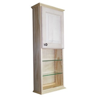Ashley Series 36-inch Unfinished 3.5-inch Deep On-the-Wall Cabinet