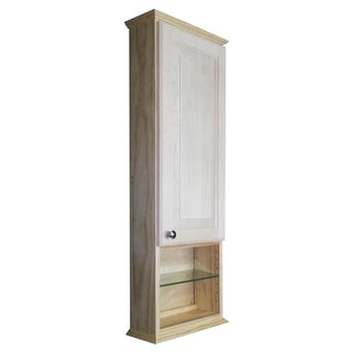 Ashley Series 42-inch Unfinished 3.5-inch Deep On-the-Wall Cabinet