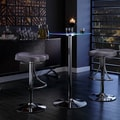 Caley Modern LED Counter Height 3-Piece Dining Sets