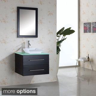 Virtu Marsala 30-inch Single Sink Bathroom Vanity Set