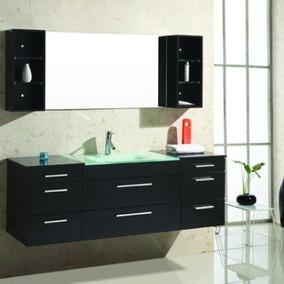 Virtu Columbo 63-inch Single Sink Bathroom Vanity