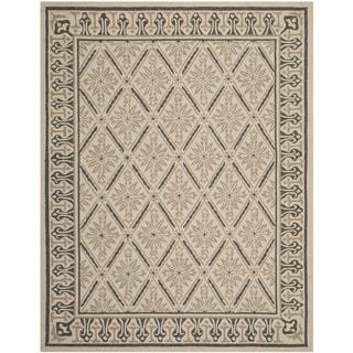 Safavieh Indoor/ Outdoor Four Seasons Beige/ Slate Rug (7'6 x 9'6)