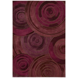 kathy ireland by Nourison Palisades Plum Rug (8' x 10'6)