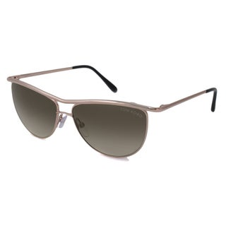 Tom Ford Women's TF0182 Helene Aviator Sunglasses