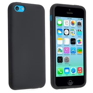 BasAcc Black Silicone Skin Case for Apple� iPhone 5C