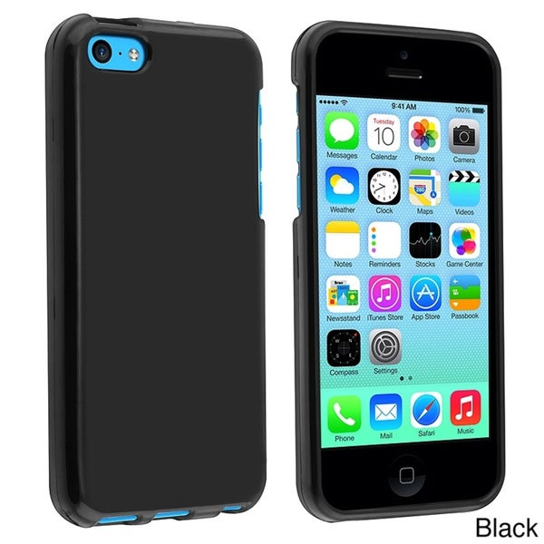 INSTEN TPU Rubber Phone Case Cover for Apple iPhone 5C