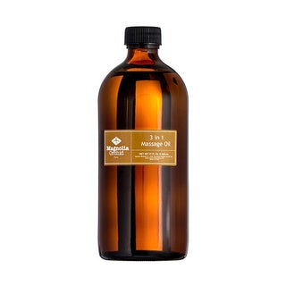 Magnolia Orchid 3-in-1 Fat Burning 17-ounce Body Massage Oil