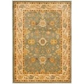 Safavieh Heirloom Blue/ Cream Rug (6'7 x 9'1)