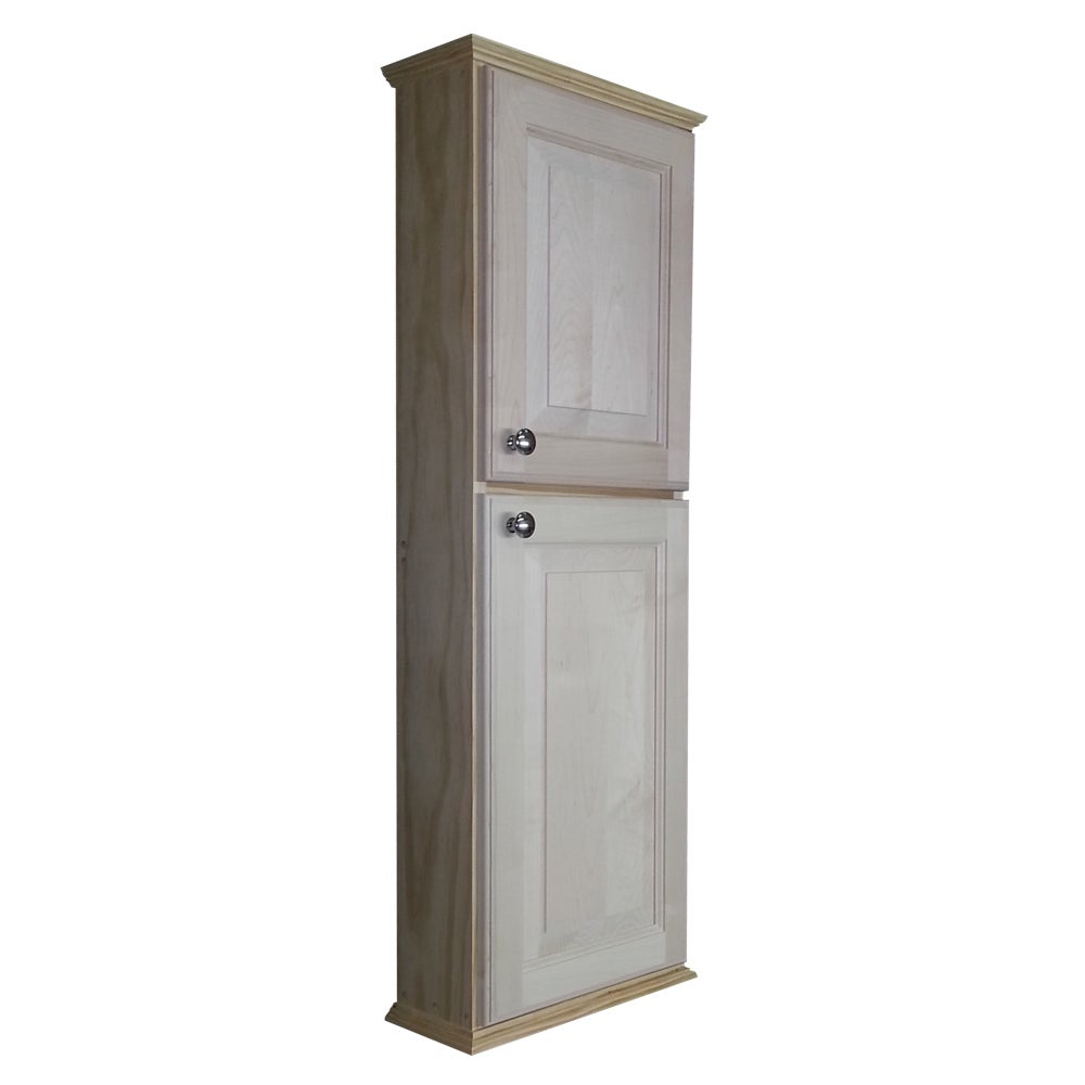 ashley series 42 inch unfinished deep on the wall cabinet