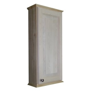 Ashley series unfinished wall cabinet - Unfinished wood bathroom wall cabinets ...