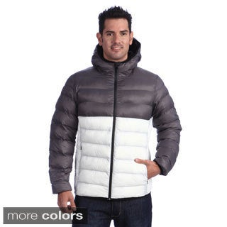 Collezione Men's Hooded Packable Puffer Jacket