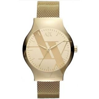Armani Exchange Women's Goldtone Fashion Watch