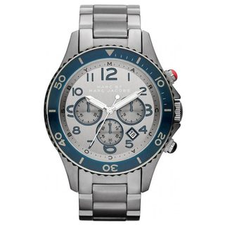 Marc Jacobs Men's 'Rock Chrono' Stianless Steel Chronograph Watch