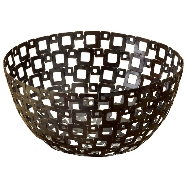 12 inch Square Pattern Metal Basket Overstock Shopping  : 12 inch Square Pattern Metal Basket 1bf85848 2d9e 49f9 8db3 10b2753a48f5600 from www.overstock.com size 600 x 600 jpeg 61kB