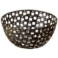 12-inch Square Pattern Metal Basket