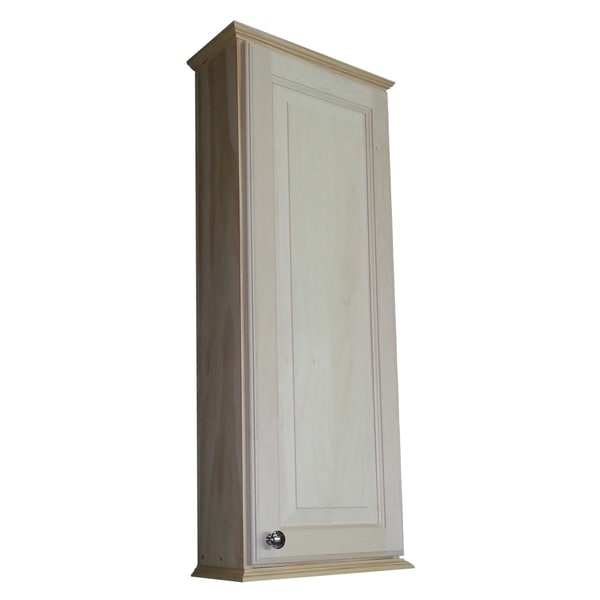 ashley series unfinished wood on the wall cabinet