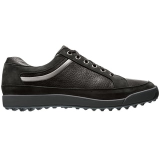 Footjoy Mens Contour Black/Grey Casual Spikeless
